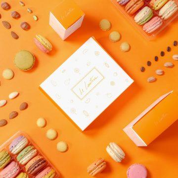 Coffret macarons Le Lautrec artisanal