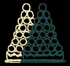 Les Pièces Montées de Macarons