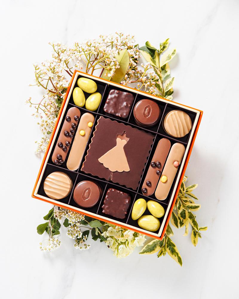 Chocolat coffret élégante